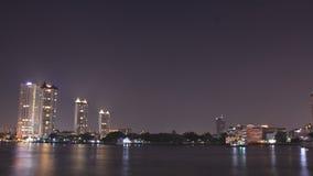 El río Chao Phraya Imagen de archivo libre de regalías