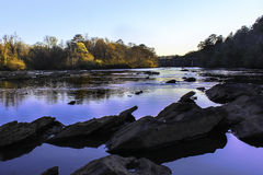 El río Chattahoochee fotografía de archivo