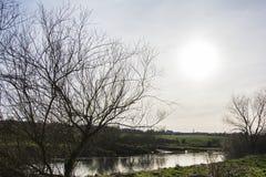El río Clyde Foto de archivo libre de regalías
