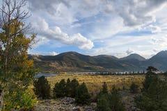 El río Colorado en el valle Fotografía de archivo