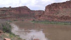 El río Colorado escénico metrajes
