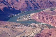 El río Colorado poderoso en el borde del sur Imágenes de archivo libres de regalías