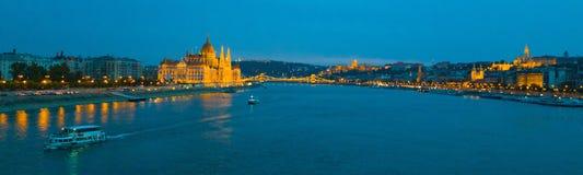 El río Danubio fotos de archivo libres de regalías