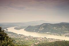 El río Danubio fotos de archivo