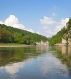 El río Danubio Fotografía de archivo