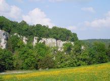 El río Danubio Foto de archivo libre de regalías