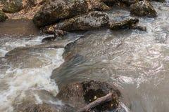 El río de Belakurikh en la caída Fotografía de archivo libre de regalías
