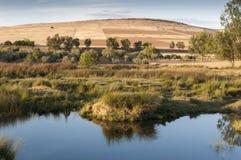 El río de Bullaque Imagen de archivo libre de regalías