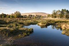 El río de Bullaque Fotos de archivo