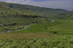 El río de Bushman's en el castillo de Giants fotografía de archivo