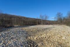 El río de la montaña Imagen de archivo libre de regalías