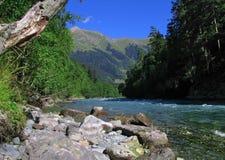 El río de la montaña Foto de archivo libre de regalías