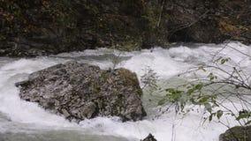 El río de la montaña barranca almacen de video