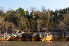 El río de Manambolo foto de archivo