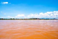 El río de Mekong Fotografía de archivo libre de regalías
