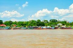 El río de Mekong Imagenes de archivo