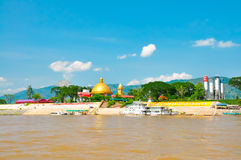 El río de Mekong Fotografía de archivo