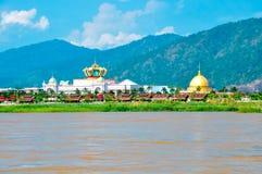 El río de Mekong Imágenes de archivo libres de regalías