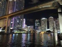 El río de Miami Foto de archivo