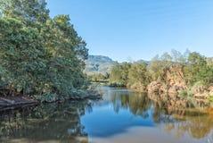 El río de Riviersonderend sin extremo Fotografía de archivo libre de regalías