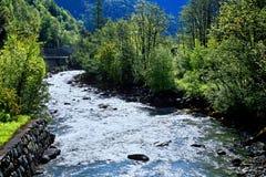 El río del blanco de Mont Fotografía de archivo libre de regalías
