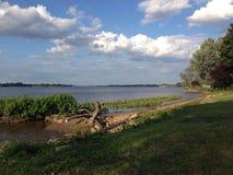 El río Delaware Fotografía de archivo