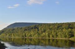 El río Delaware Fotos de archivo libres de regalías