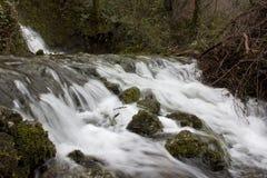 El río en invierno Fotografía de archivo libre de regalías