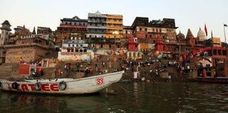 El río Ganges Foto de archivo libre de regalías
