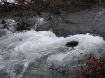 El río Grza en Serbia Foto de archivo libre de regalías