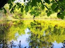 El río Ilovlya Imágenes de archivo libres de regalías