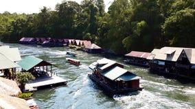 El río Kwai Fotos de archivo libres de regalías