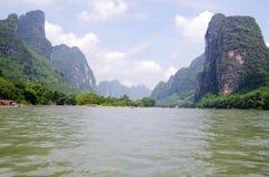 El río Lijiang Imagenes de archivo