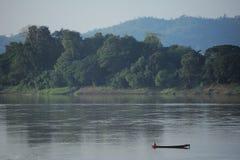 El río Mekong. Fotografía de archivo libre de regalías