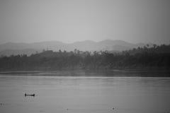 El río Mekong. Imagen de archivo