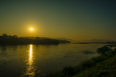 El río Mekong Imagen de archivo libre de regalías