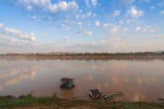 El río Mekong en chiang kan, provincia de Loei Tailandia fotos de archivo libres de regalías