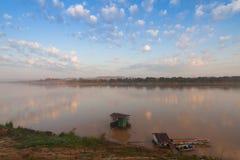 El río Mekong en chiang kan, provincia de Loei Tailandia fotografía de archivo