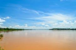El río Mekong Tailandia. Fotografía de archivo
