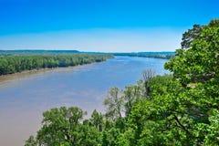 El río Missouri foto de archivo