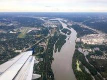 El río Missouri Fotos de archivo libres de regalías