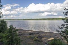 El río Mologa Foto de archivo