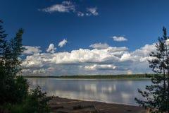 El río Mologa Imagen de archivo libre de regalías