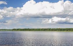El río Mologa Imagen de archivo