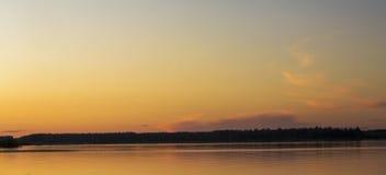 El río Mologa Fotografía de archivo