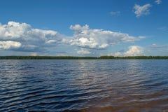 El río Mologa Foto de archivo libre de regalías