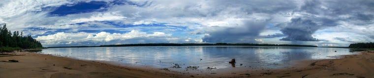 El río Mologa Fotografía de archivo libre de regalías