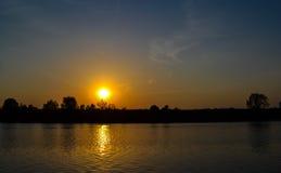 El río Mologa Imágenes de archivo libres de regalías
