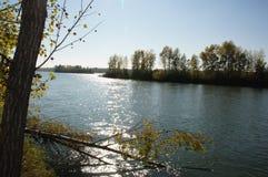 El río Obi Imagenes de archivo