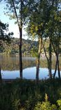 El río Ohio hermoso Fotos de archivo